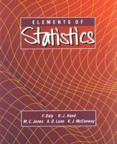 9780201422788: Elements of Statistics (1994 publication)