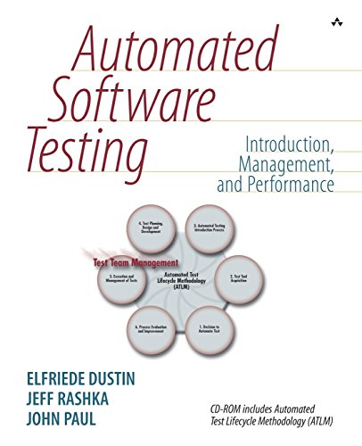 Automated Software Testing: Introduction, Management, and Performance: Elfriede Dustin, Jeff