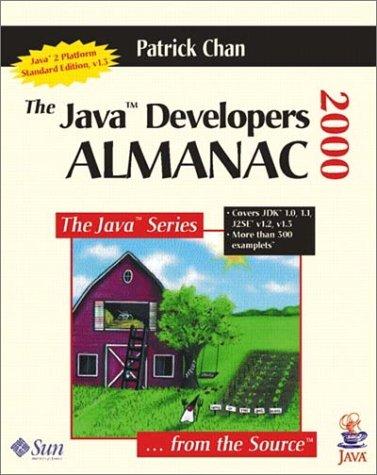 9780201432992: The Java(TM) Developers Almanac 2000 (3rd Edition)