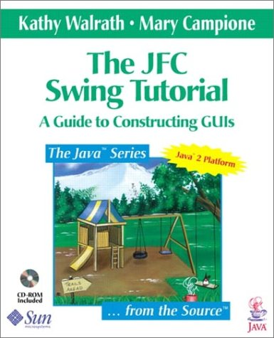 9780201433210: The JFC Swing Components: Tutorial Guide for Constructing GUI's (Java Series)