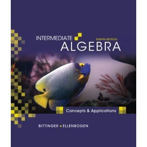 Intermediate Algebra, 8th Eighth Edition: Marvin L. Bittinger