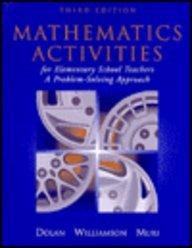 9780201440966: Mathematics Activities for Elementary School Teachers: A Problem Solving Approach