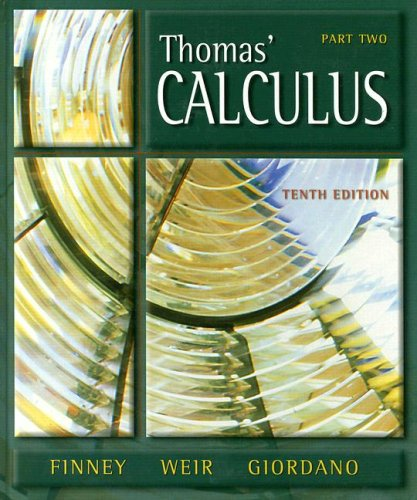 9780201441437: Calculus Part 2 Multivariable (10th Edition) (Pt. 2)