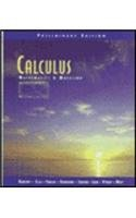 9780201442403: Calculus: Mathematics and Modeling