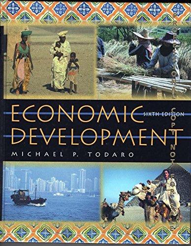 Economic Development by Michael P. Todaro (1996, Hardcover): Michael P. Todaro