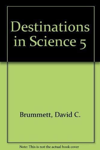Destinations In Science 5th Grade