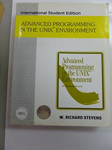 9780201455717: Advanced Programming in the Unix Environment (International Student Edition)
