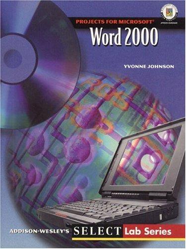 9780201458961: SELECT: Word 2000 (Select Lab S)