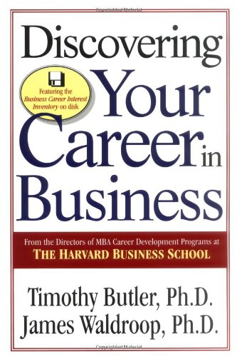 Discovering Your Career In Business: Timothy Butler, James