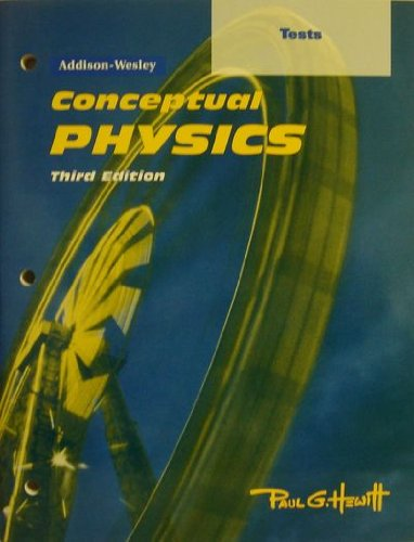 9780201468038: Conceptual Physics Tests
