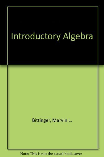 9780201472301: Introductory Algebra