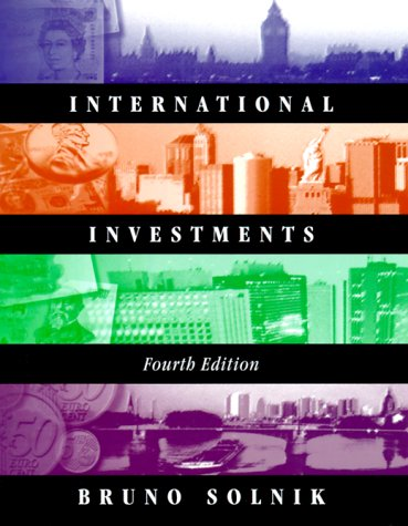 9780201473773: International Investments (Addison-Wesley Series in Finance)
