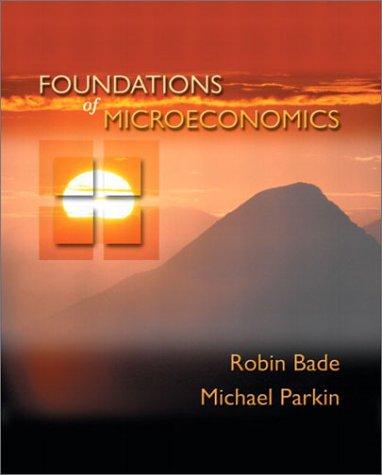 9780201473834: Foundations of Microeconomics