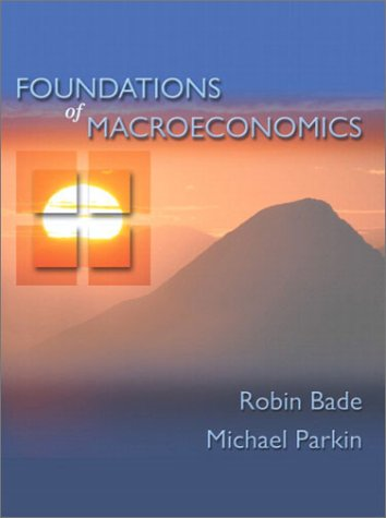 9780201473841: Foundations of Macroeconomics