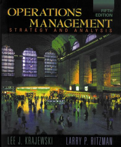 9780201474312: Operations Management: Strategy and Analysis (World Student)