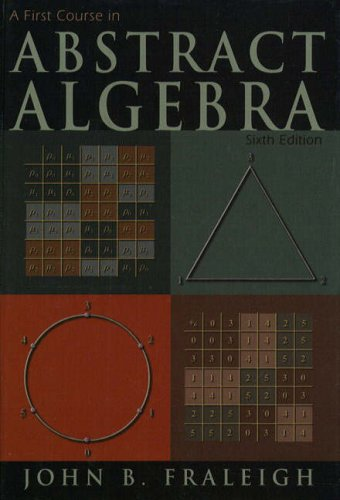9780201474367: A First Course in Abstract Algebra (World Student)