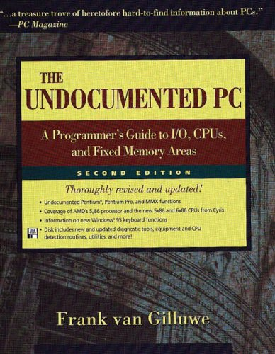9780201479508: The Undocumented PC: A Programmer's Guide to I/O, CPUs, and Fixed Memory Areas