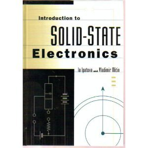 Introduction To Solid State Electronics (Frontiers in: Ipatova, I. P.,