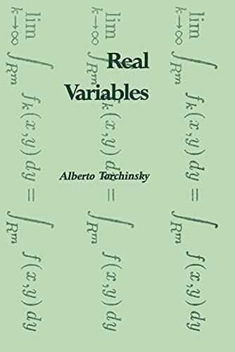 9780201483277: Real Variables