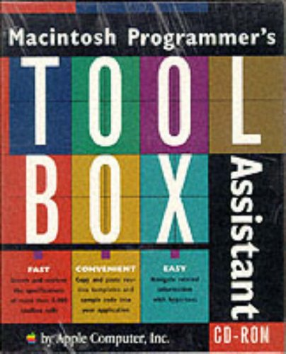 9780201483420: Macintosh Programmer's Toolbox Assistant/Cd-Rom