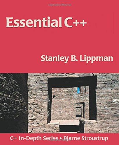 9780201485189: Essential C++
