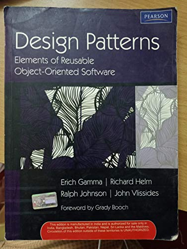 9780201485370: Design Patterns: Elements of Reusable Object Orientated Software