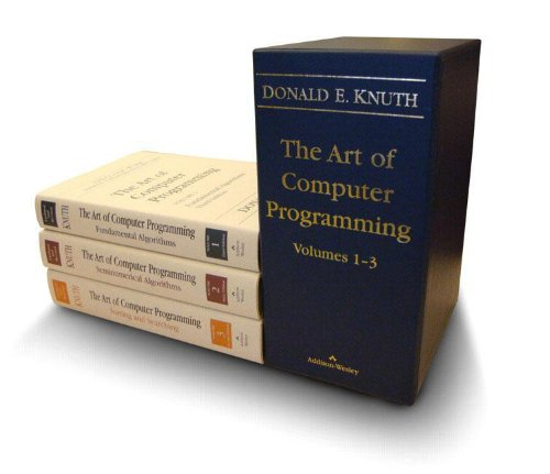The Art of Computer Programming, Vols. 1-3 (0201485419) by Donald E. Knuth