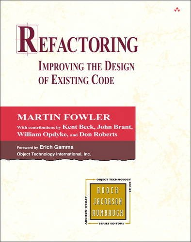 9780201485677: Refactoring:Improving the Design of Existing Code (Object Technology Series)