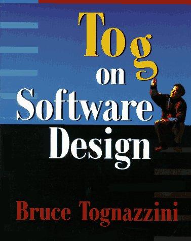 9780201489170: Tog on Software Design