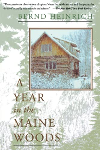 9780201489392: A Year In The Maine Woods