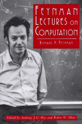 9780201489910: Feynman Lectures on Computation (Frontiers in Physics)