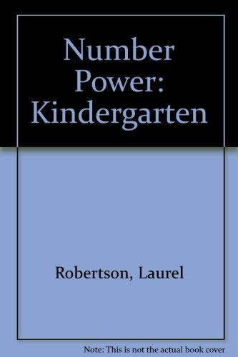 Number Power: Kindergarten (0201493209) by Robertson, Laurel; Urquhart-Brown, Susan; Regan, Shaila
