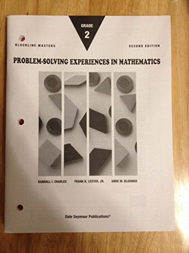 9780201493634: Problem-Solving Experiences in Mathematics, Grade 2, Blm