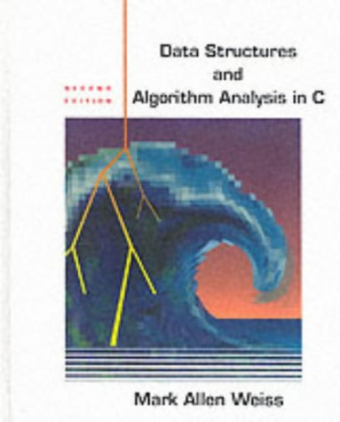 9780201498400: Data Structures and Algorithm Analysis in C: United States Edition