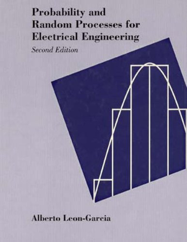9780201500370: Probability and Random Processes for Electrical Engineering