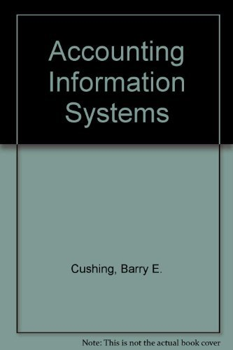 9780201501582: Accounting Information Systems