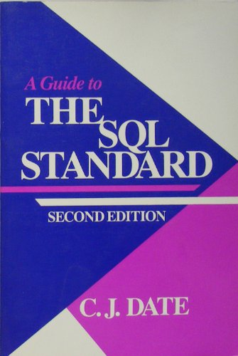 9780201502091: A Guide to the SQL Standard