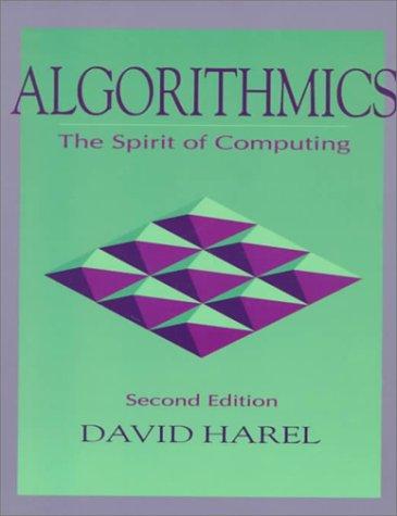 9780201504019: Algorithmics: The Spirit of Computing (2nd Edition)