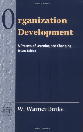 9780201508352: Organization Development: A Process of Learning and Changing, 2nd Edition
