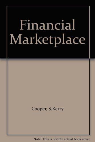 9780201508482: Financial Marketplace