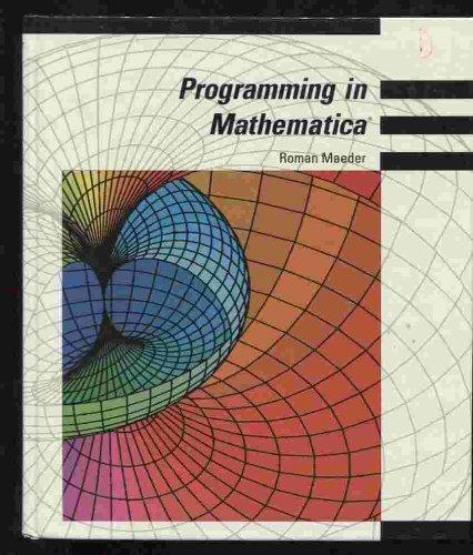 9780201510027: Programming in Mathematica