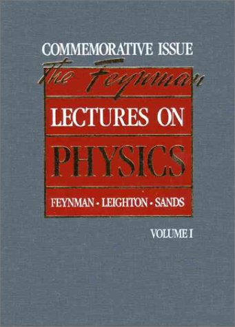 9780201510034: Lectures on Physics: Commemorative Issue, Volume 1: Mainly Mechanics, Radiation and Heat v. 1 (Feynman Lectures on Physics)