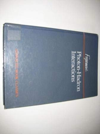 9780201510065: Photon-hadron Interactions (Advanced Book Classics)