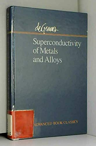 9780201510072: Superconductivity of Metals and Alloys