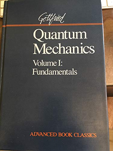 9780201510089: Quantum Mechanics: Fundamentals: 1