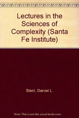9780201510157: Lectures In The Sciences Of Complexity (SANTA FE INSTITUTE STUDIES IN THE SCIENCES OF COMPLEXITY LECTURES)