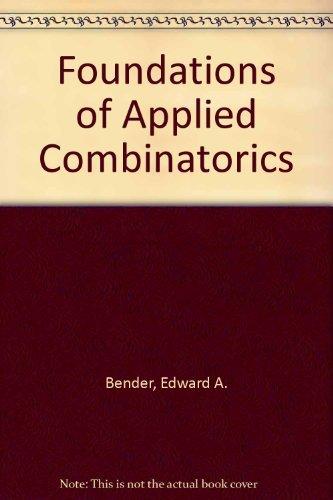 9780201510393: Foundations of Applied Combinatorics