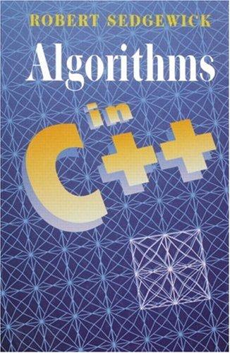 Algorithms in C++: Robert Sedgewick