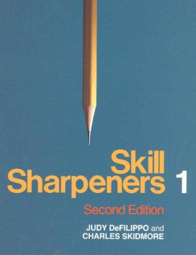 Skill Sharpeners 1 (No 1): Defilippo, Judy, Skidmore,