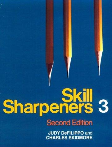 Skill Sharpeners 3: Defilippo, Judy, Skidmore,